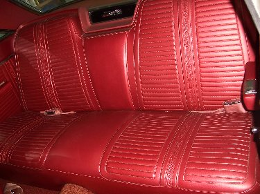 1967 Plymouth Satellit Back Seat