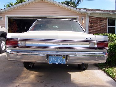 1967 Plymouth Satellite Back View