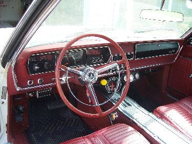 1967 Plymouth Satellite Drivers Side View of Interior