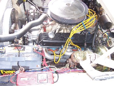1967 Plymouth Satellite Engine View Drivers Side