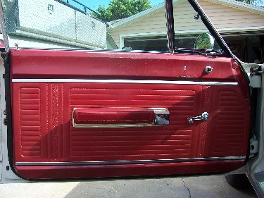 1967 Plymouth Satellite Interior View Of Drivers Door