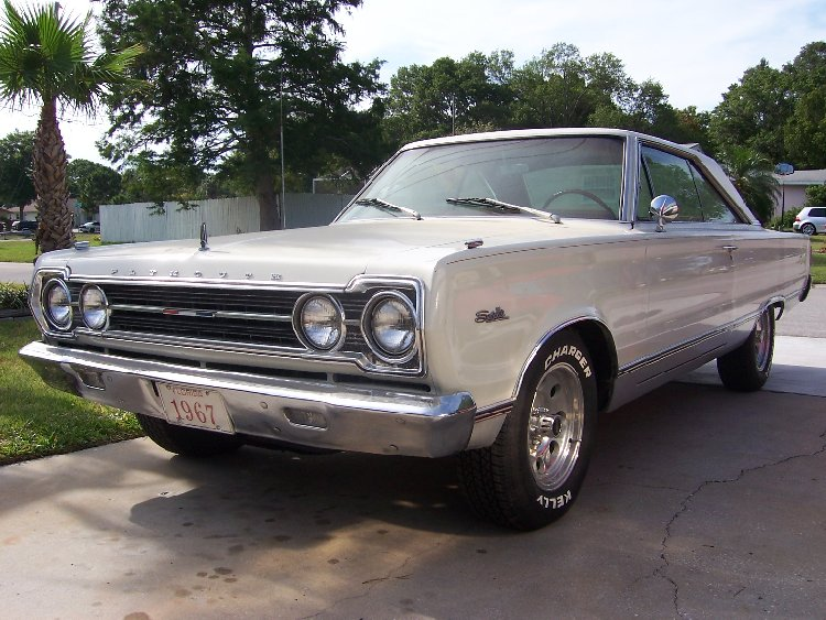For Sale 1967 Plymouth Satellite 2 Door Hardtop