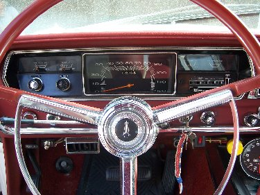 1967 Plymouth Satellite View of Instrumentation
