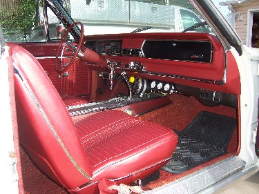 1967 Plymouth Satellite Passenger Side View Of Interior