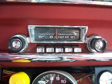 1967 Plymouth Satellite AM Radio