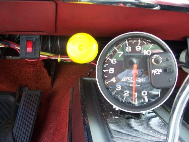 1967 Plymouth Satellite Tachometer